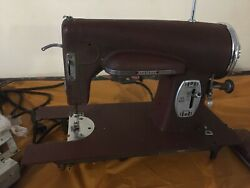 Vintage Antique 1948 Kenmore 117-812 Sewing Machine With Foot Pedal, As-is