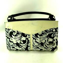 Miche Classic Leaf Design Soft Fabric Exterior YellowBlackWhite SHELL ONLY