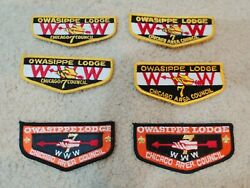 Lodge 007 Owasippe Chicago Oa Flap Order Of The Arrow Boy Scouts Bsa