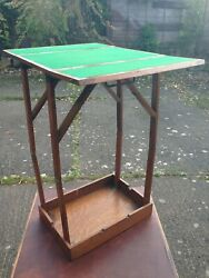 Pop Up Campaign Card / Games Table Circa 1850