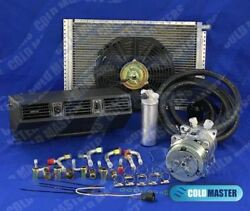 A/c-kit Universal Underdash Evaporator Heat Cool 404n And Electric Harness 12x16