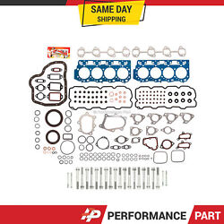 0.047and039 Thick Full Gasket Set Head Bolts For 01-04 Chevrolet Sierra Silverado 6.6