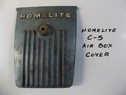 Air Box/air Filter Cover For Homelite C-5 Chainsaw Nice Shape