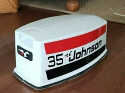 Johnson Outboard Decal Kit 35 Hp 25 Hp 20 Hp Graphics Set Boat Cowling / Hood