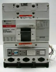 Cutler Hammer Hld3400 T56wzgp 400a Lsia W/ Optim 550 Trip Unit 200a Rating Plug