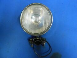 Vintage Delta Monogram Head Light Whizzer Motor Bike 1930and039s 1940and039s Works Rewired