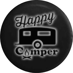 Spare Tire Cover Happy Camper 2 Glowing Off Road Rv Accessories