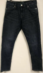 Calvin Klein Womens Size 28x30 Mid Rise Slim Fit Jeans CKJ 021 Washed Once $7.95