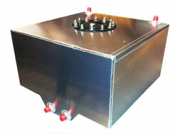 Rrc - 8 Gallon Custom Aluminum Fuel Cell Gas Tank With Sump And An Fittings