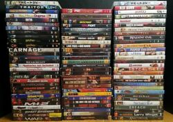 Lot Of 87 Dvds Assorted Movies Mixed Used Dvd Action Comedy Harry Potter Redheat