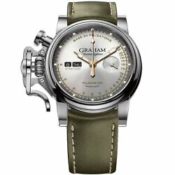 Graham 2CVCS.S01A LIMITED EDITION Chronofighter Vintage Pulsometer Wristwatch