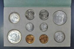 1952 P D S Uncirculated Mint Set In The Original Mint Issued Envelope