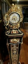 Grandfather Clock - Franz  Hermle One Of A Kind