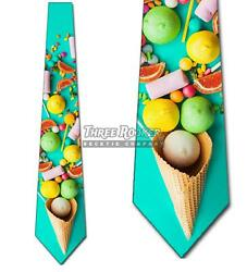 Candy Ties Mens Colorful Confection Necktie Sweet Treats $15.00