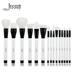 Jessup Makeup Brushes Set 15Pcs Cosmetic Kit Face Powder Foundation Make up Tool $17.59