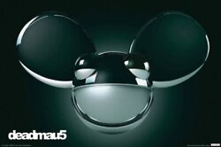 Deadmau5 Black Poster 24 by 36 Inch