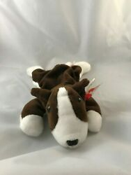 BRUNO the Terrier Dog Sixth Generation w Errors (Beanie Baby)