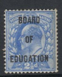 Kevii Sgo85 2andfrac12d Board Of Education Official - Mounted Mint - Cat Andpound4850