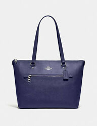 Coach Gallery Tote Cadet Blue NWT $328.00 $118.00