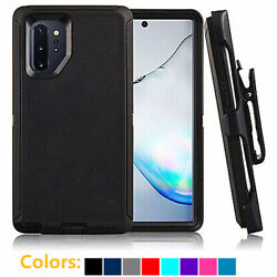 For Samsung Galaxy Note 10 10 Plus Defender Hard Case Cover Clip Fits Otterbox