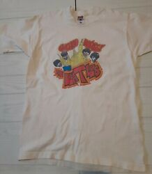 Vintage Chicago Rocks With The Beatles Tshirt Size Lg Single Stitch