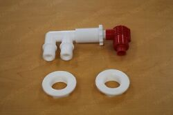 Ranger Bass Boats Pump Out / Aerator Combo Fitting Livewell Valve Plumbing Parts