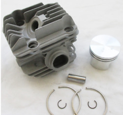 Kit Piston Cylinder Fit Chainsaw Stihl Ms.200t Diameter 1 9/16in 54.120.17