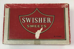 Vintage Swisher Sweets Cigar Box 5 Cents Special Class C Cigars Holds 50 Cigars