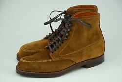NEW W BOX  ALDEN 6D SNUFF SUEDE INDY BOOTS D6902H