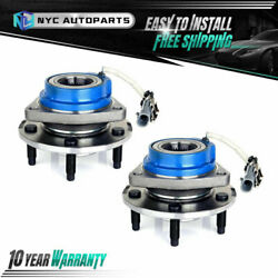 Pair Front Wheel Hub Bearing For 2000-2013 Chevy Impala Rendezvous Grand Prix