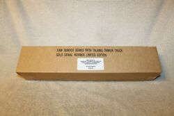 1998 Sunoco Talking Tanker Toy Truck Gold Serial Numbered Limited 0815 Sealed