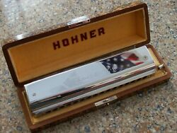 Hohner Custom Chromatic Harmonica 16 Built By Frank Huang At Hohner Factory
