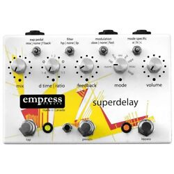 Empress Superdelay Guitar Modular Synth Delay Effects Pedal - Watch Item