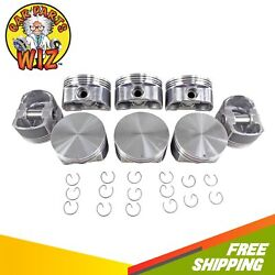 Piston Set Std Size Fits 02-04 Cadillac Escalade 6.0l Ohv 16v