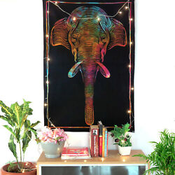 Elephant Art Poster Tapestry Indian Wall Hanging Home Decor Wall Art Tapestries