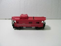 Tyco Chattanooga 607 Red Caboose Train Car Ho Gauge Scale Tr2087