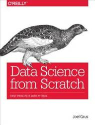Data Science from Scratch: First Principles with Python Paperback GOOD