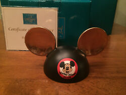 Wdcc Mickey Mouse Club Ears Honorary Ears - New In Box