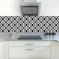 Waterproof Tile Wall Sticker Self-adhesive Home Stickers Kitchen Bathroom