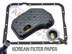 Automatic Transmission Service Kit Filter And Rubber Pan Gasket For Gm 4l65e 4l70e