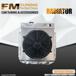 Mustang Falcon Radiator With Fan Shroud For Ford Mercury 60-66 3row Aluminum
