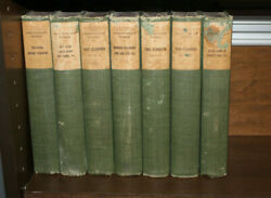 Antique Books John Ruskin's Works St. Mark's Edition 1890-early 1900 Numbered Ed