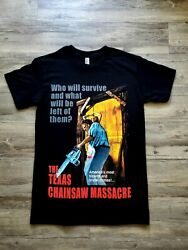 NEW THE TEXAS CHAINSAW MASSACRE T SHIRT  $12.99