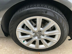 Audi A6 Quattro 2014-2015 18 Oem Wheels With Continental Tires Set Of 4