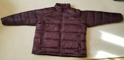 Columbia Thermal Coil Jacket Burgundy (Red) 4X Very Good Condition