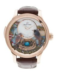 JAQUET DROZ Bird Repeater Fall Of The Rhine Watch w Official Sales Warranty