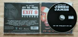 Outlaw Jesse James Cd It Is What It Is Streetlord Chedda Boyz 2005 Exit 9 Record