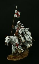 Tin Soldiers, Museum Top, Knight Templar, 1096-1270 90 Mm, Crusaders