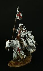 Tin Soldiers Museum Top Knight Templar 1096-1270 90 Mm Crusaders