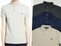 Polo Menand039s Short Sleeve Soft Polo Collar T Shirts Size M Was 80